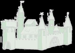 """Logo - Gasthof und Pension """"Am Schloß"""""""